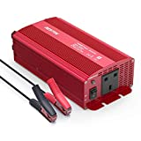 BESTEK 1000W Power Inverter DC 12V to AC Outlet 230V 240V Voltage Converter