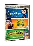 Pack Estudio Laika: Coraline + ParaNorman + Boxtrolls [DVD]