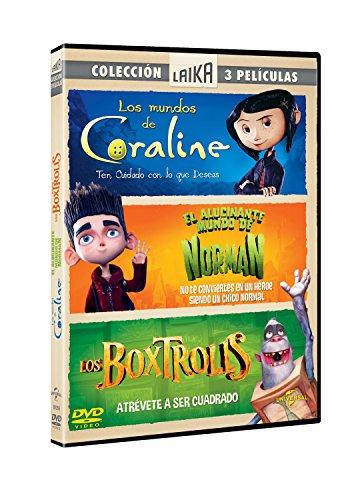 PACK ESTUDIO LAIKA (CORALINE + PARANORMAN + BOXTROLLS) (Spanien Import, siehe Details für Sprachen)