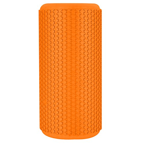 TNP-Accessories-Foam-Roller-Yoga-Pilates-Massage-Workout-Exercise-Rehab-Crossfit-Physio-Gym-Therapy-Sports-Injury-Smooth-Texture-High-Density-EVA-Foam-Roller-Orange
