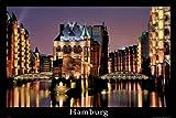 empireposter - Deutsche Städte - Hamburg - Größe (cm), ca. 91,5x61 - Poster, NEU -