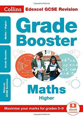 Edexcel GCSE 9-1 Maths Higher Grade Booster for grades 5-9 (Collins GCSE 9-1 Revision) (English Edition)