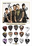 Avenged Sevenfold Gold Médiator Pick Display (Limited to 100)