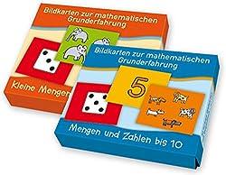 """PAKET Mengen: Bestehend aus """"Kleine Mengen auf einen Blick"""" und """"Mengen und Zahlen bis 10"""" (Bildkarten zur mathematischen Grunderfahrung)"""
