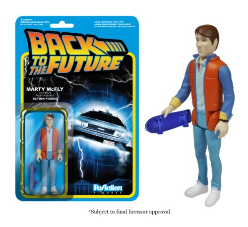 Back To The Future - Marty McFly ReAction Figure 0849803039158