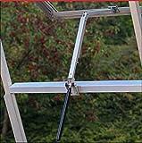 Yosoo, apri-finestra automatico sensibile al calore per serre (capacità di sollevamento 7 kg, altezza di sollevamento 45 cm)