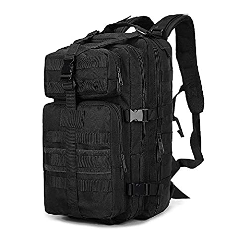 Rophie Military Water-resistant Camouflage Hiking Daypack/Camping Backpack/Travel Daypack/Casual Backpack 35L