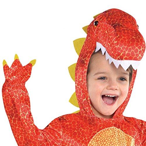 Imagen de amscan 844661 55  disfraz infantil con diseño dinosaurio, talla s 4 6 años alternativa