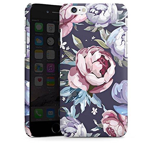 Apple iPhone X Silikon Hülle Case Schutzhülle Blumen Rosen Geschenk Premium Case matt