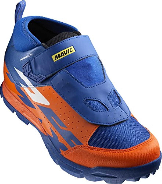 Mavic Deemax Elite MTB Fahrrad Schuhe orange/blau 2017