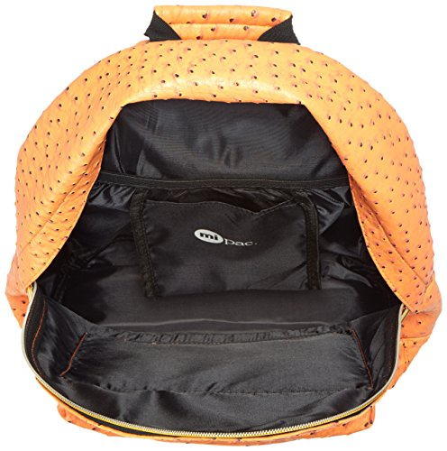 Mi Pac Ostrich–Backpack Orange - Ostrich Copper