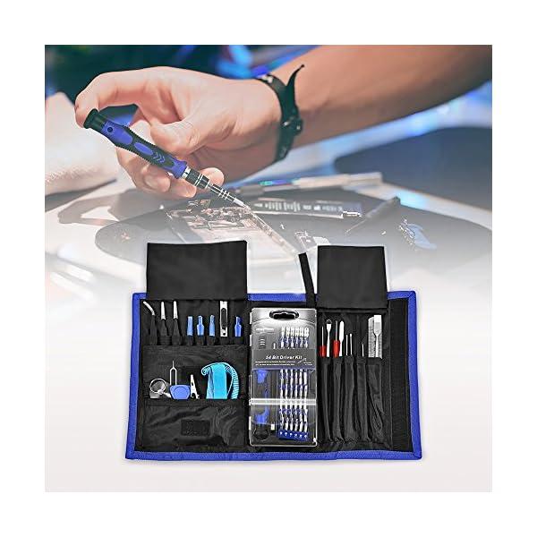 InLife-Set-81-in-1-Cacciaviti-di-Precisione-Proffesionale-Kit-Cacciaviti-di-Riparazione-per-PC-Laptop-Occhiali-Smartphone-Tablet-iPhone-iPad-MacBook-Elettronica-Digitale