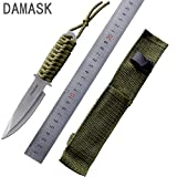 SWD prime Outdoor Surival Knife Fixed Blade Straight Knife Tactical Diver Leggings Knife