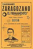 Calendario Zaragozano 2018