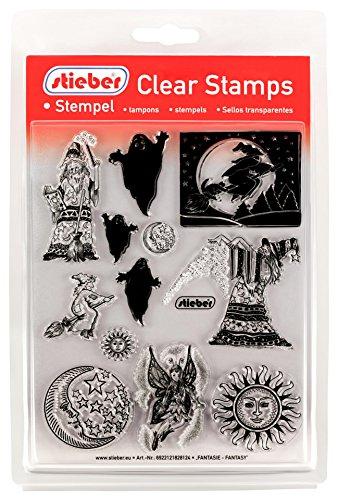 stieber  Clear Stamps Transparente Stempel Sets (Bitte gewünschtes Motiv/Thema unten auswählen!) (Fantasie - Fantasy) -