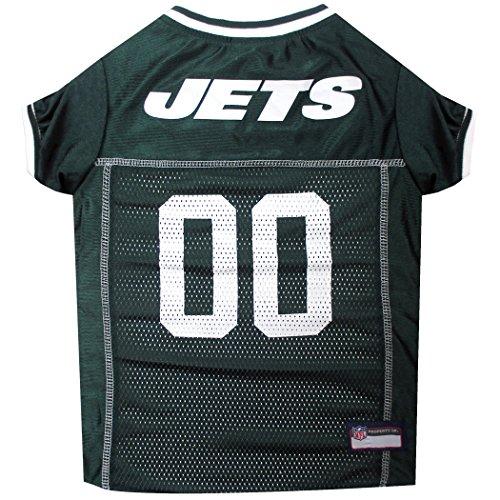 Pets First NFL New York Jets Jersey Kleidung für Haustiere, Größe XL -
