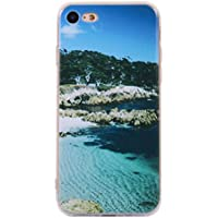Cozy Hut iPhone 7 Handyhülle,iPhone 7 Silikon Hülle, 3D Handyhülle Muster Case Cover Für iPhone 7 Liquid Crystal Ultra Dünn Crystal Clear Transparent Handyhülle Soft Cover Premium Anti-Scra