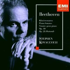 Beethoven : Sonates pour piano Op. 10 & 28 Pastorale