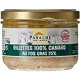 Rillettes pur canard au foie gras de canard 25%