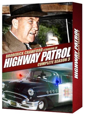 Highway Patrol Complete Season 3 by Broderick Crawford