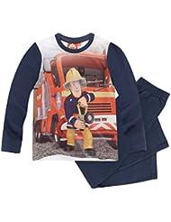 Feuerwehrmann Sam Jungen Pyjama Schlafanzug 2016 Kollektion - marine