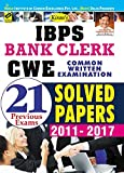 Kiran's IBPS Bank Clerk CWE 2017 Common Written Examination 21 Previous Exams Solved Papers 2011-2017 (English) - 1880