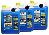 Preisjubel 3 x SONAX AntiFrost&KlarSicht Konzentrat 5 l, Frostschutz, Enteiser, Reiniger