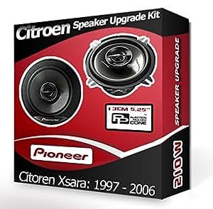 Haut-Parleur de porte arrière pour Citroen Xsara Pioneer 5,25, 13 cm de haut-Parleur de voiture kit 210 Watts