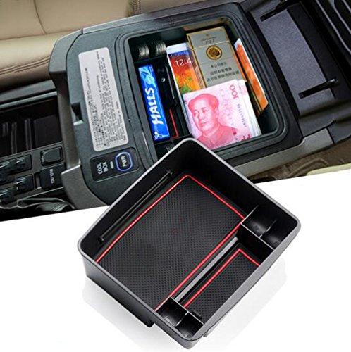 Mittelkonsole Montage (inebiz Auto Mittelkonsole Armlehne Sekundär Aufbewahrungsbox, Handschuh Tablett für Toyota Prado Jahr 2004–2016)