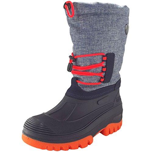 CMP Unisex-Erwachsene Ahto Bootsportschuhe, Türkis (Denim Mel. L552), 36 EU