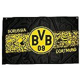Borussia Dortmund Zimmerfahne Südtribüne - plus gratis Aufkleber forever Dortmund