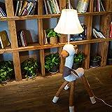 Edge to Stehlampe Kreative Cartoon Stehlampe Tuch Duke Alpaka Lampe Schaf Lampe Wohnzimmer Schlafzimmer Kinderzimmer Lampe