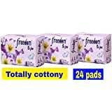 F.B.F Cotton Anion Sanitary Pads XXXL [330 Mm] & XL [280 Mm] Combo Of 24 Pads