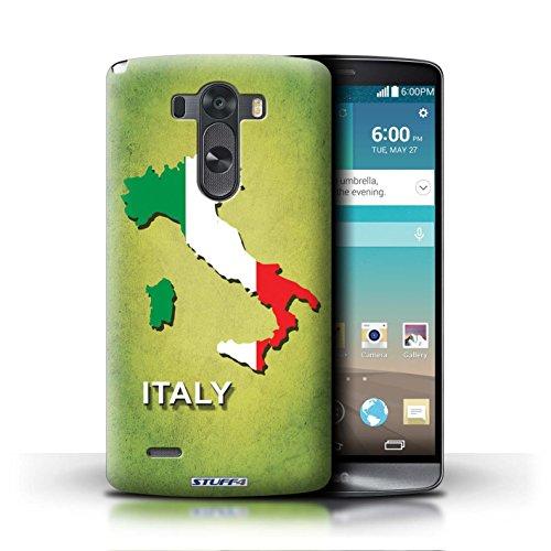 Kobalt® Imprimé Etui / Coque pour LG G3/D850/D855 / Chine/Chinois conception / Série Drapeau Pays Italie/Italien