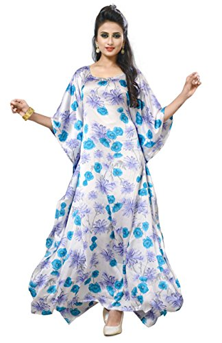 Justkartit Casual Wear Floral Printed Kaftan 2017 / Women Plus Size Wear...