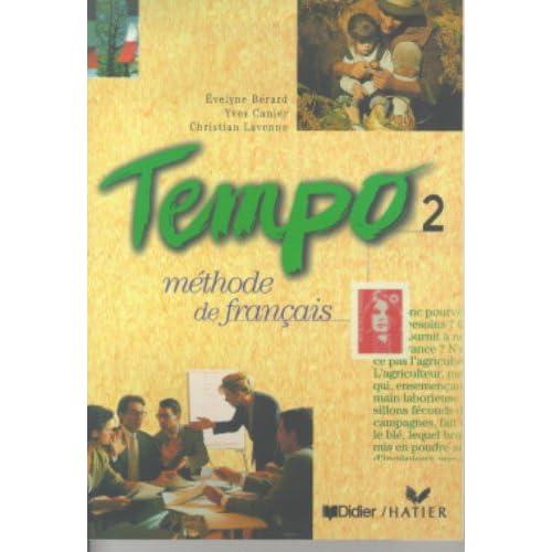 Tempo, 2 : Méthode de français (Livre de l'élève)