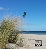 Wolkenstürmer Kite Paraflex Sport 1.7 Blau Lenkmatte
