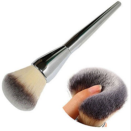 lalang-silver-make-up-brush-foundation-flat-top-face-loose-powder-makeup-brush