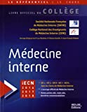Médecine interne - Med-Line Editions - 14/12/2015