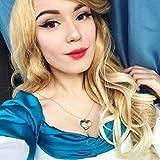 Die besten IMSTYLE Lace Front Perücken - imstyle Kunsthaar Bright Honig Braun Mix blonde Farbe Bewertungen