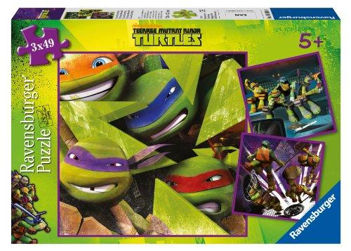 Ravensburger 09328 - Die vier Ninja Turtles