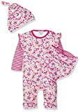 Lilly and Sid Baby-Mädchen Spieler Ditsy Giftset Playsuit