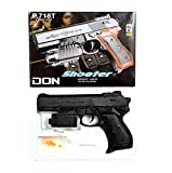 #4: BabyGo Don Pistol Toy Gun with Extra 150 + Bullets