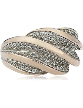 ESPRIT Damen-Ring 925Sterling Silber Glam Rose Melina 156Zirkonia (Rosa)