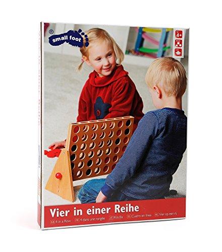 Gesellschaftsspiel-Vier-in-einer-Reihe-aus-Holz-der-zeitlose-Klassiker-in-groer-Ausfhrung-fr-Kinder-spielerisch-Konzentration-und-Geduld-frdern-ein-tolles-Strategiespiel-geeignet-ab-5-Jahren