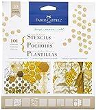 Design Memory Craft Faber-Castell Mix Media Stencils 101 Graphic (FC770600)