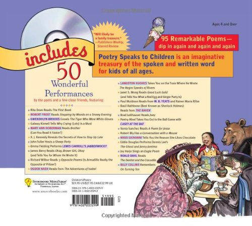Poetry Speaks to Children [With CD] (Read & Hear)