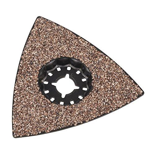 Wolfcraft Schleifplatte Expert, 80 mm, Dreieckig, 1 Stück, 3930000