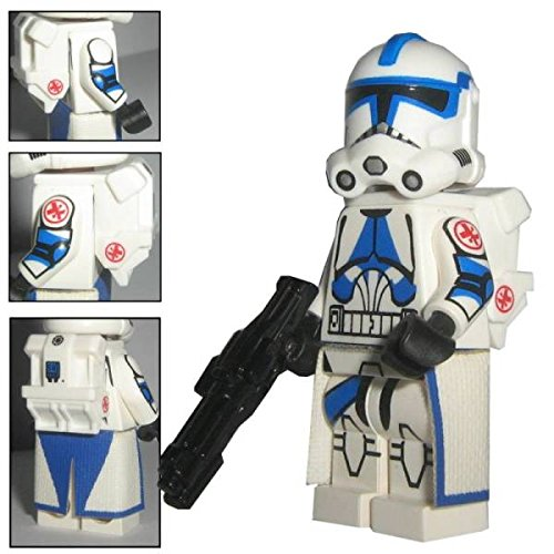 Custom Brick Design 501st Legion Medic Sanitäts Clone Trooper Kix Figur - Customized by ()