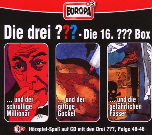 Die Drei Fragezeichen 3 ??? CD 16. Box 46 47 48  16/3er (Komplette Box-sets)